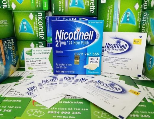 Miếng dán Nicotinell 21mg