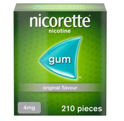 Kẹo nhai Nicorette Classic cai thuốc lá