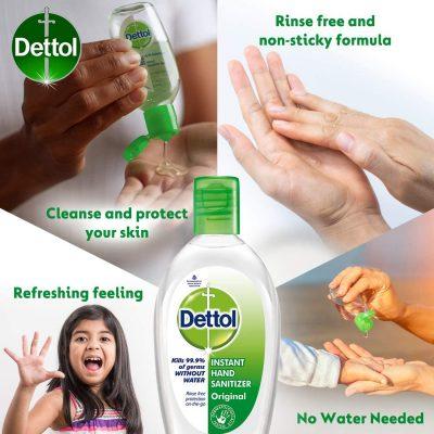Công dụng nước rửa tay khô